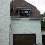 The garage and new bedroom en-suite windows