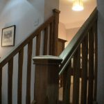 Guest suite - staircase from dressing area to bedroom