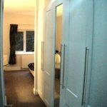Main suite - wardrobe corridor
