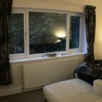 Main suite showing new double glazing