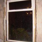 An original single-glazed window