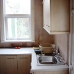 Kitchen after plastering